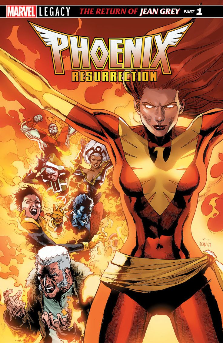 Marvel Comics has officially announced that the original, adult incarnation of Jean Grey will make her return in Phoenix Resurrection this December. Check out some fiery variant covers after the jump...