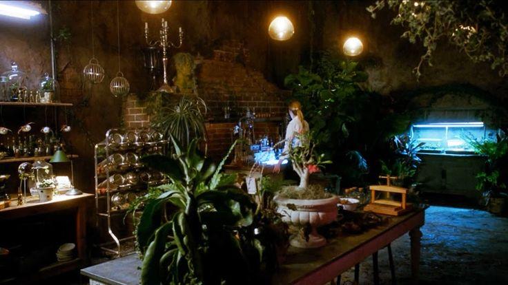 Cordelia's greenhouse in American Horror Story