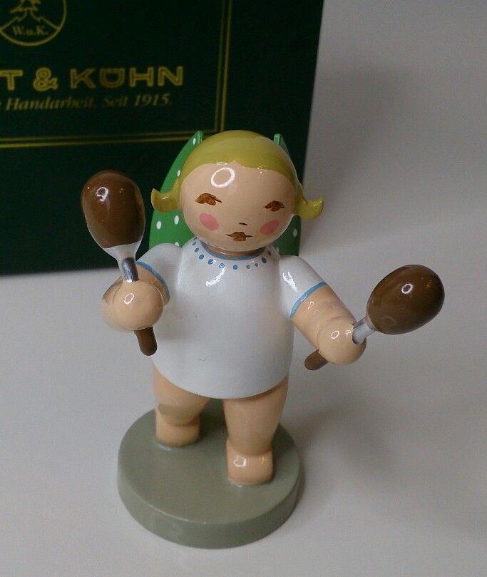 Wendt Und Kuhn Engel Mit Rassel Christmas Ornaments Holiday Decor Novelty Christmas