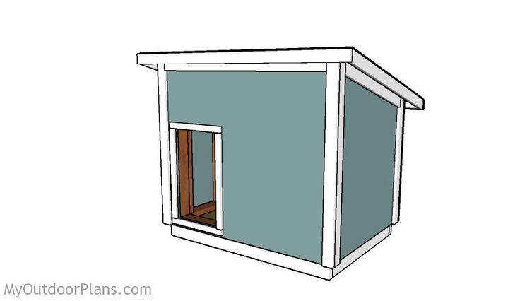 Les 10 meilleures images à propos de Dog house plans sur Pinterest