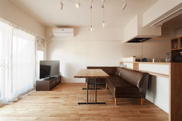 リフォーム・リノベーションの事例|LDK|施工事例No.301家族の成長に合わせ自在に変わるワンルームの住まい|スタイル工房