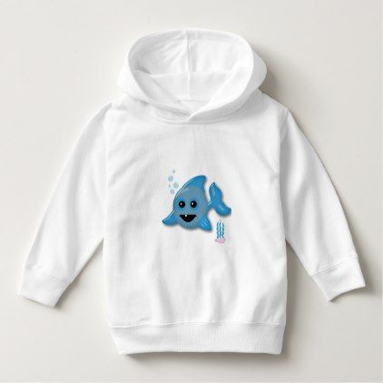 Baby Shark Hoodie - baby gifts child new born gift idea diy cyo special unique design
