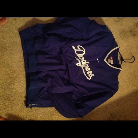 Dodgers jacket Perfect condittion  genuine merchandise. Nike Jackets & Coats