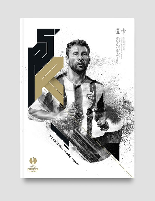PAOK FC Matchday Magazine on Behance