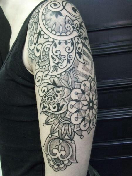 Paisley tattoo | Ink. | Pinterest | Sleeve, Tattoo sleeves ...