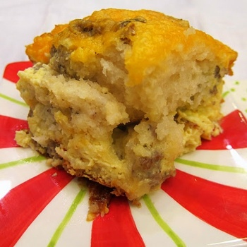 Sausage Egg Biscuit Casserole - Christmas Morning? Can do most ahead of