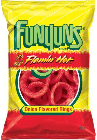 Funyuns Flamin' Hot Onion Rings