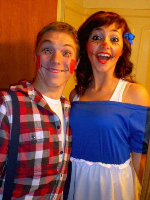 Raggedy Ann & Andy costume!