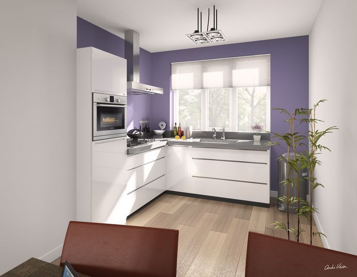 Landelijke keuken interieurontwerpster christine inrichting kleine