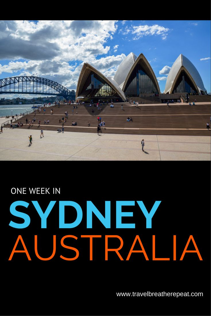 How to spend one week in Sydney, Australia
