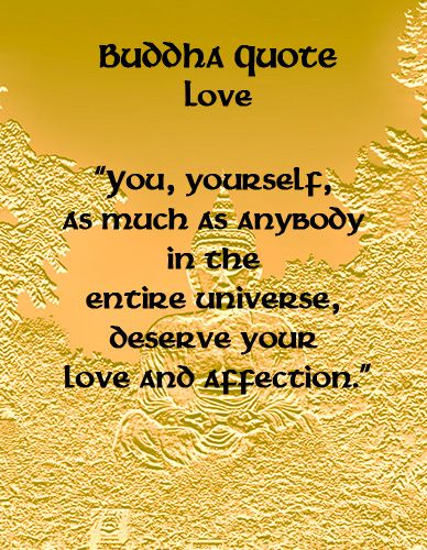 You deserve your love and affection because you are a beautiful soul ... Let it Out.