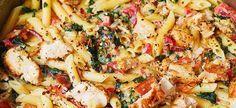 Weer een heerlijk pastagerecht. Gezond en snel klaar!