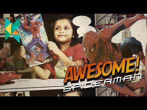 SURPRISE Toys OPENING SPIDERMAN Marvel superhero toys Kids Video Kyrascope…
