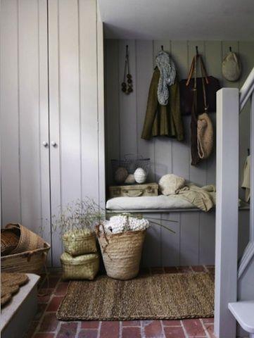 Image result for cottage hallway