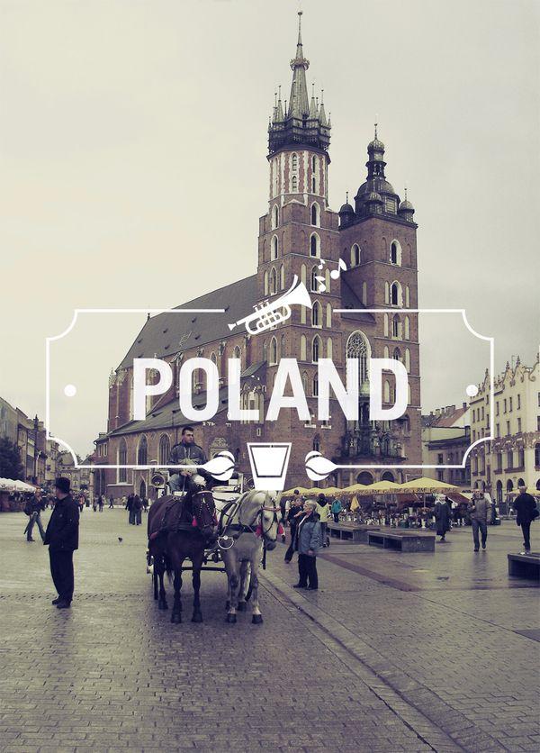 Poland: Graphic Design, Bucket List, Favorite Places, Cities, Poland, Travel, Typography, Poland