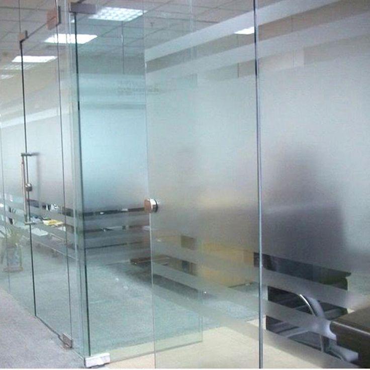 45х200см/45х100см Водонепроницаемый ПВХ матовое стекло окна стикер пленка конфиденциальности матовый Чехол для домашнего офиса декора