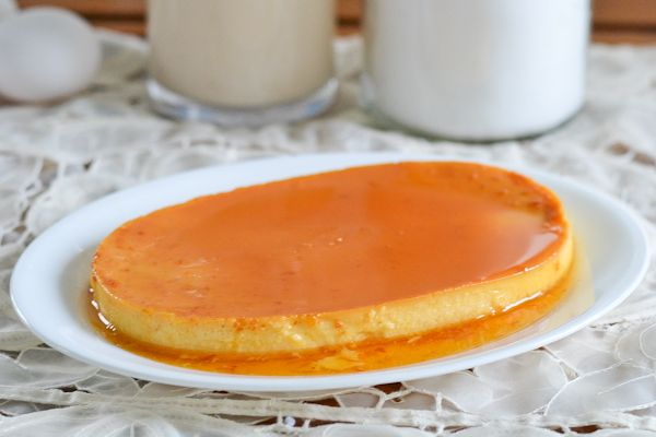 Leche Flan is a delicious and popular Filipino caramel custard dessert.