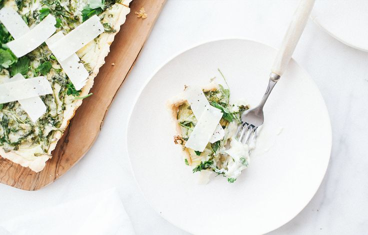 Embrace the Art of the Artichoke Tart - Welcome the spring weather with this savory tart.