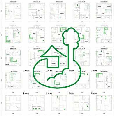 проекты небольших домов 7 х 7 м
