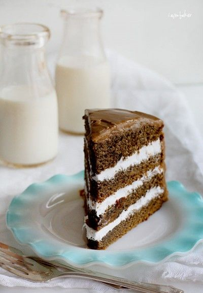 Coffee Cream Cake from I Am Baker with the Pioneer Woman - boy, do I heart coffee!