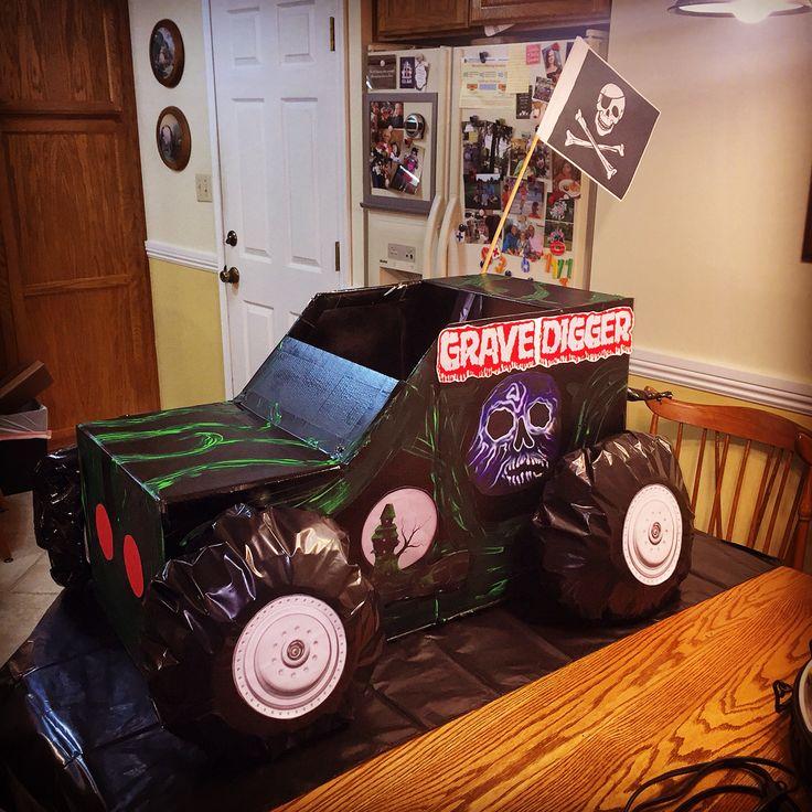 7 best Grave Digger monster truck costume images on Pinterest ...