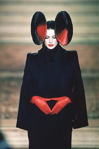 Givenchy Haute Couture Autumn/Winter 1997 by Alexander McQueen.