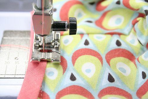 biais rondom naaien