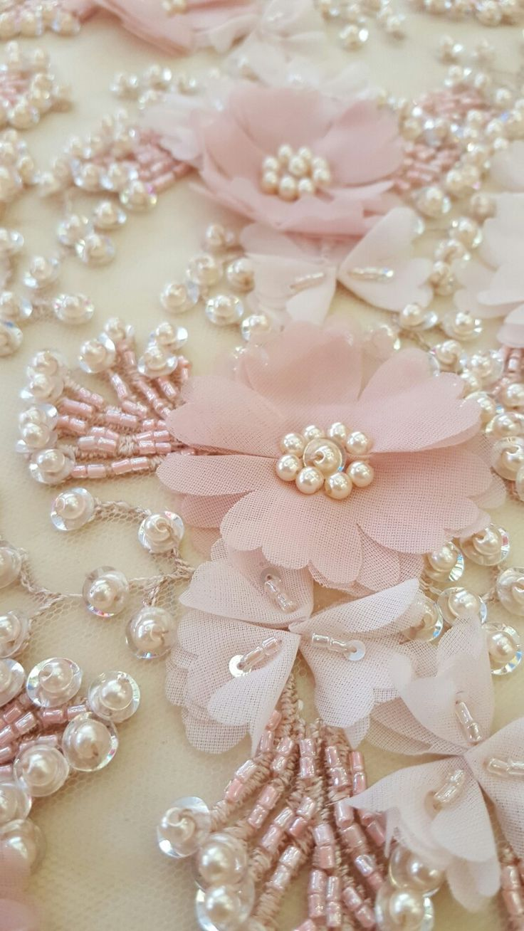 Flowers embellishments