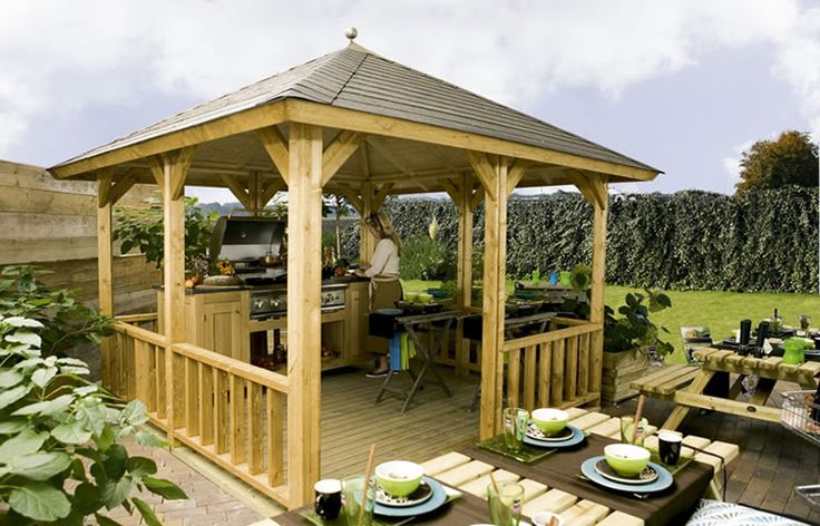 "square free standing Veranda, the Hawaii measuring 3.0x3.0m (9'8"" x ..."