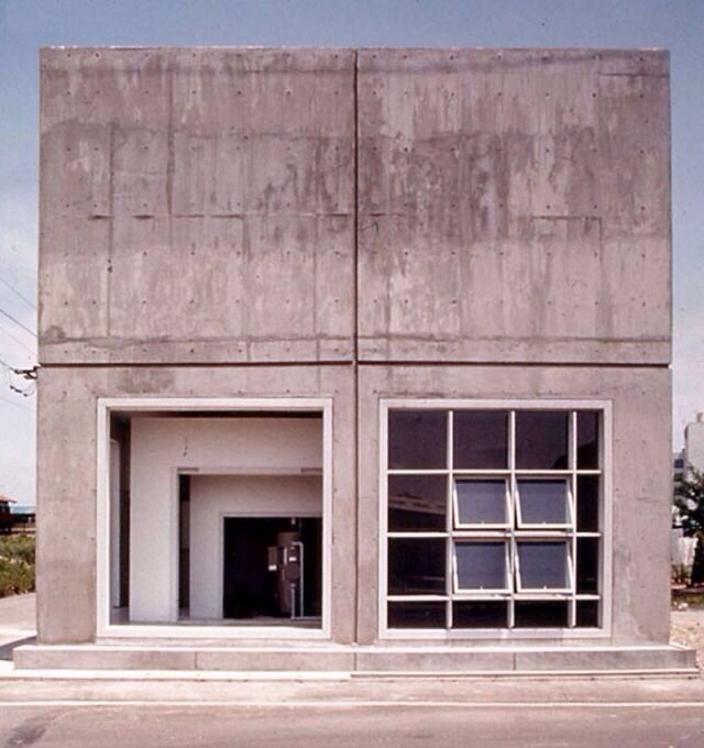 House within a house - Todoroki Residence (1974) Chiba, Japan by Japanese architect Hiromi Fujii.