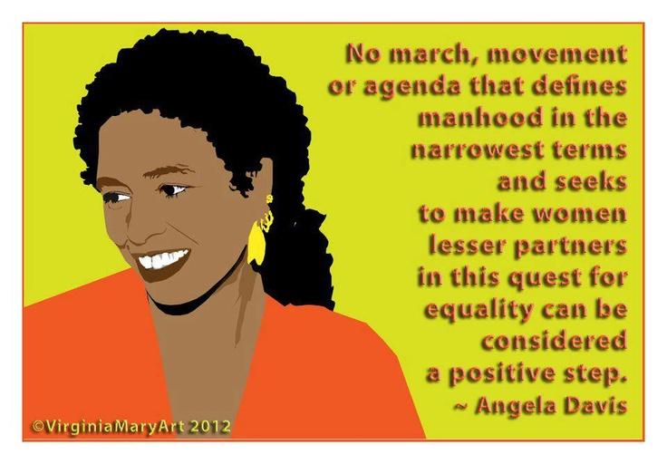 005 Angela Davis Black History Quotes Pinterest