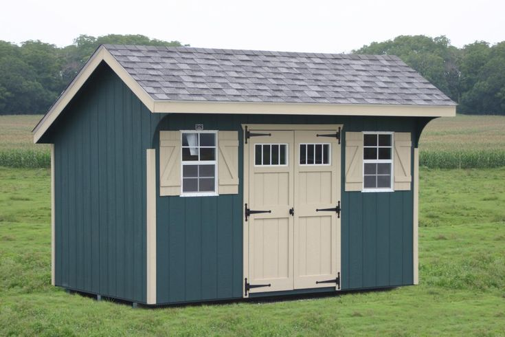 Saltbox Carriage House Sheds