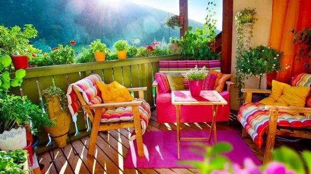Ma terrasse va en voir de toutes les couleurs