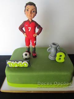 Doces Opções: O Cristiano Ronaldo no 8º aniversário do Tiago