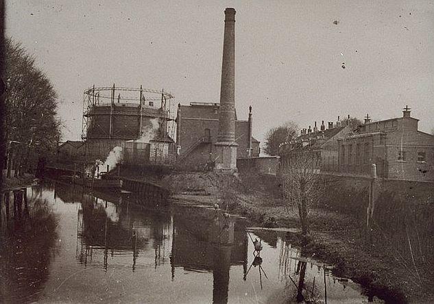 Gasfabriek Kampen (jaartal: 1920 tot 1930) - Foto's SERC