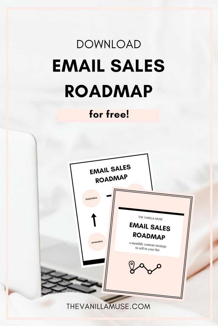 Don't know where to start when it comes to selling to your email list? Don't worry! This roadmap will give you an entire plan for each month so you can give your readers high-quality content AND make sales while you sleep! Get your free copy today!