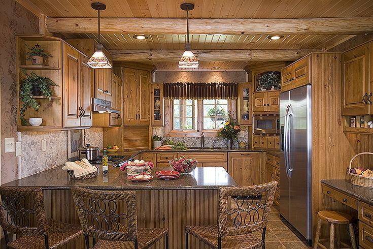 country kitchen fairbanks best 25 log home kitchens ideas on log cabin 2794