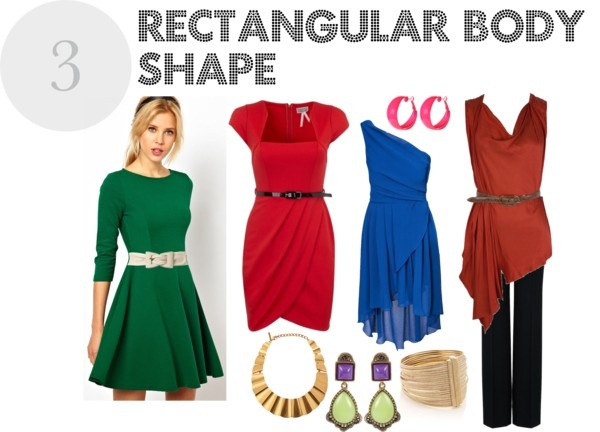 """Rectangular body shape"" by albagomezimage ❤ liked on Polyvore"