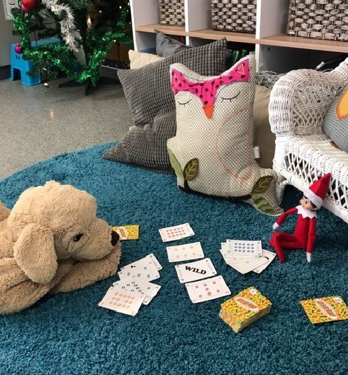Evie, The #ElfontheShelf, is our latest #Numero player. Here she is playing against the St James' Anglican School Year Two class puppy. Every time the students are out of the room the next move is made. These students have really enjoyed talking about what move the puppy or Evie might do next! #aussieteachers #mentalmaths #christmasgame #teachersfollowteachers #iteach #elfintheclassroom #aussieteachertribe #ozteacher #primaryteaching #classroomfun