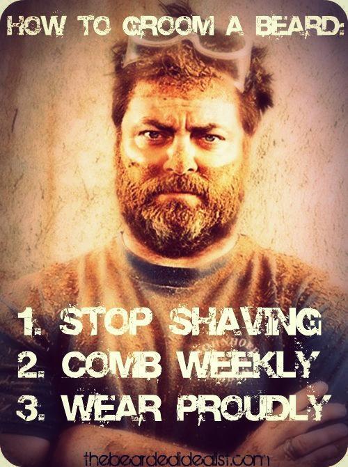 Proper Beard Grooming beards