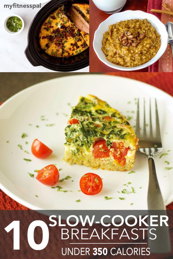 10 Slow-Cooker Breakfasts Under 350 Calories