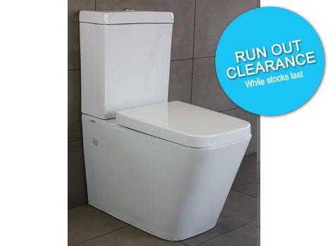 Highgrove Bathrooms - QUATTRO Toilet Suite