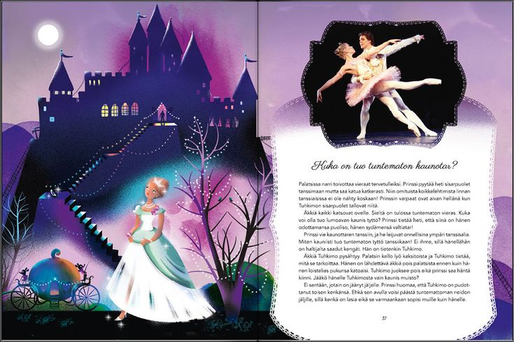 www.baletintahti.fi Cinderella, original photo by Sakari Viika, illustration Ulla Sainio