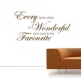 Every Love Story Is Wonderf...