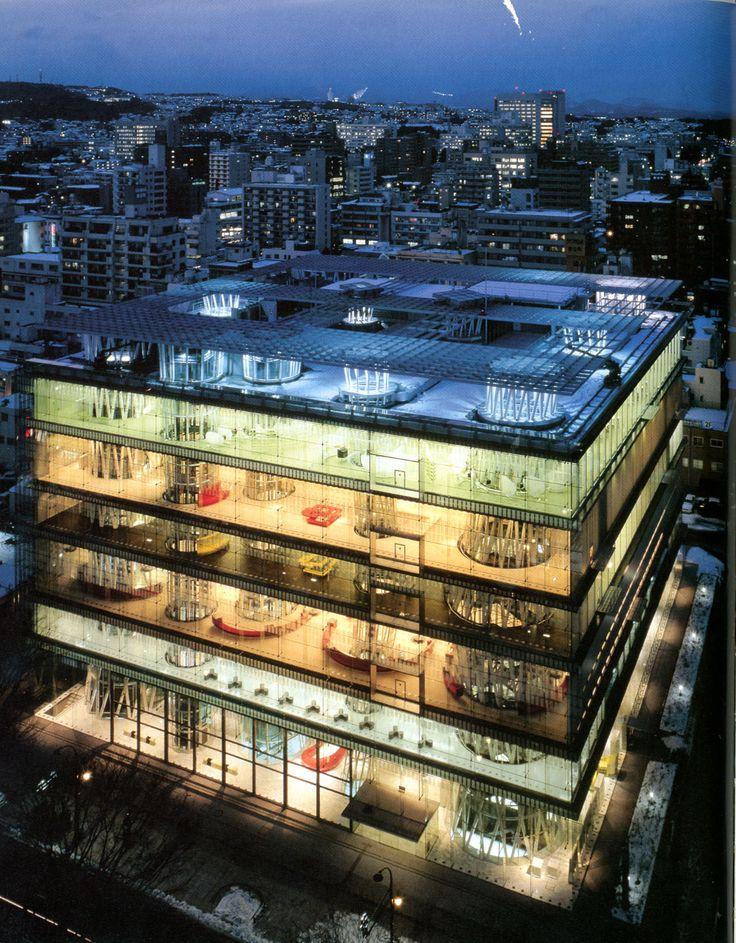 Toyo Ito - Sendai Mediatheque