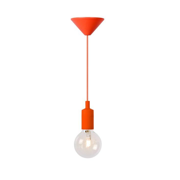 Lucide Fix Hanglamp Ø 11 cm - Oranje