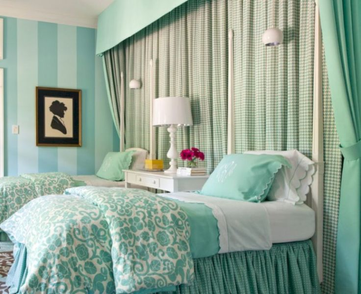 17 Best ideas about Mint Green Bedrooms