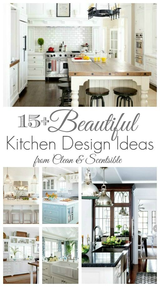 Do you love white kitchens? Come and see our kitchen tour and be inspired for your own design!
