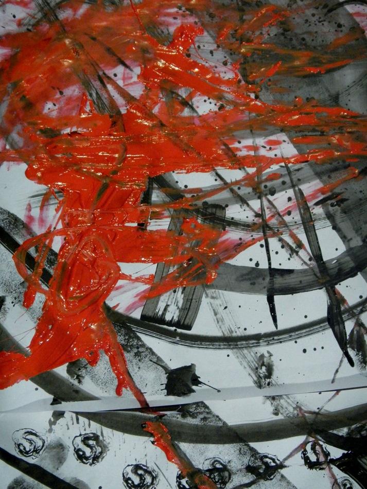 Dg1. Desquicio experimental en tinta y papel. 2013