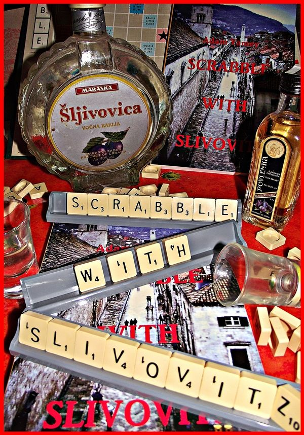 "Cheers for Christmas! Enjoy ""SCRABBLE WITH SLIVOVITZ"" by Adam Yamey  while you relax over the festive seaon"